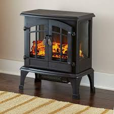 electric fireplace portable mini deco