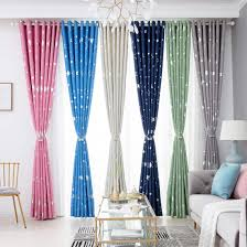 2020 Jarl Home Cute Darkening Window Curtain Panels For Kids Bedroom Star Print Grommet Polyester Nursery Blackout Curtains For Living Room From Jarlhome 13 66 Dhgate Com