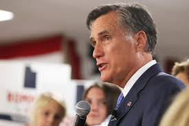 Romney says he won't run against Trump ...