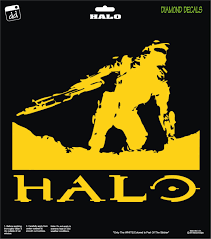 Halo Guardians Master Chief Combat Reach Game Series Decal Sticker Car Xbox One Laptop Window Halo Guardians Halo Car Stickers