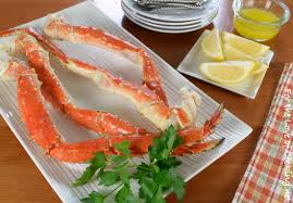 Steamed King Crab Legs with Garlic ...