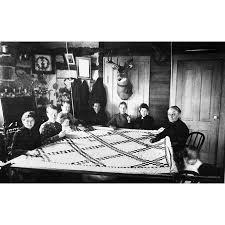 Dakota Territory Quilting Npioneer Women And Children At A ...