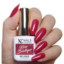 Rose Boutique Reka Czerwone Paznokcie Nails Company