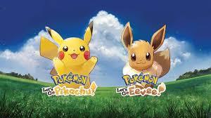 Pokemon: Let's Go, Pikachu! and Pokemon: Let's Go, Eevee! Release ...