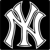 2 Ny New York Yankees Punisher Skull Vinyl Stickers 5