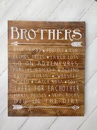 Brothers Wood Sign Boys Room Sign Boys Room Decor Rustic Twin Boys Room Decor Rustic Boys Room Twin Boys Room