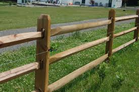 Western Red Cedar 3 Hole Line Post 6ft 1 Trusted Fencing Supply Contractor In Central Ny