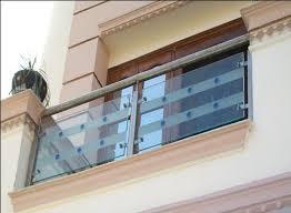 glass railings etching glass railing