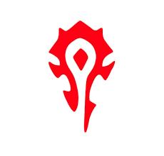 The Horde Symbol Vinyl Graphic Decal Warcraft Sticker Etsy