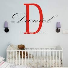 Besatiful Custom Made Personalized Name Daniel Wall Decal Independence