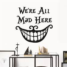 disney alice in wonderland disney mad hatter wall stickers decals