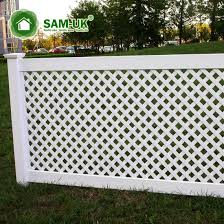 China 4 Ft White Scalloped Vinyl Shadow Box Fence China Vinyl Shadow Box Fence Vinyl Shadow Box Fences