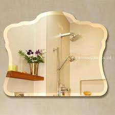 decorative glass mirror beveled
