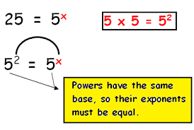 find the missing exponent