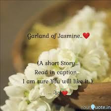 garland of jasmine ❤️ quotes writings by neha gavali