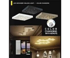 v tac vt 7128 8w led designer ceiling