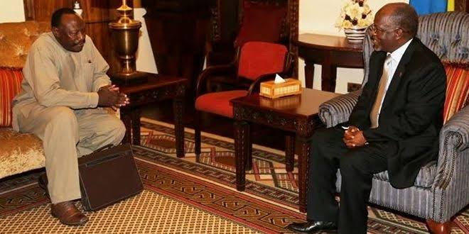 """Image result for Images of Ibrahim Lipumba and Magufuli"""""""