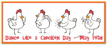 Chicken Dance Day, May 14 | Dancing day, National holidays, Pta school