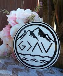 God Is Greater Than The Highs And Lows Decal God Decal Etsy In 2020 God Decal Christian Decals Greatful