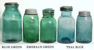 greg spurgeon antique fruit jars color