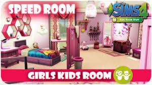 The Sims 4 Kids Room Stuff Speed Room Girls Bedroom Youtube