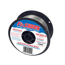 17 Gauge Spool Aluminum Wire For Containing Pets And Keeping Out Small Nuisance Animals Farm Ranch Patriot Pe2 Electric Fence Energizer Plus 250 Feet Made In U S A Patio Lawn Garden Patio