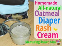 oatmeal diaper rash cream cloth diaper