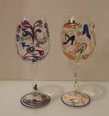 delish wine glasses set of 2 diva and
