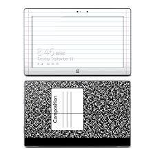 Microsoft Surface Pro Pro 2 Skin Composition Notebook Sticker Decal Ebay