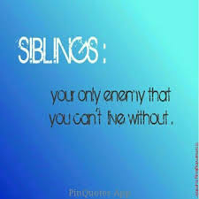 indeed they are the lovable enemies i love my siblings♡♡ my
