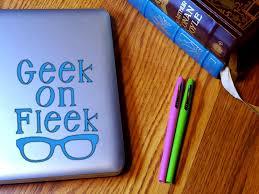 Geek On Fleek Glasses Decal Sticker For Geeks And Nerds Etsy Geek Stuff Computer Geek Vinyl Stickers Laptop