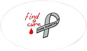 Amazon Com Cafepress Diabetes Awareness Support Oval Sticker Oval Bumper Sticker Euro Oval Car Decal Home Kitchen