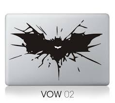 For Mac Book Stitch Batman Snow White Brain Vinyl Decal Laptop Sticker For Apple Macbook Pro Air 13 11 15 Cartoon Skin Cover Laptop Skins Aliexpress