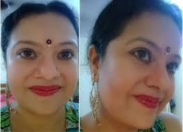south indian bridal makeup step by