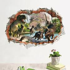 Dinosaur Wall Decals Kritters In The Mailbox Dinosaur Wall Decal