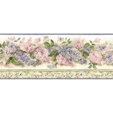lilac wallpaper borders on wallpapersafari