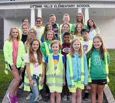 The few, the proud ... the ES Safety Patrol! - Arts