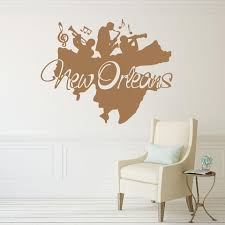 New Orleans Wall Decal Style And Apply