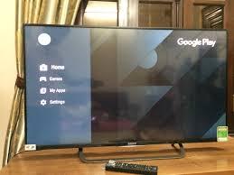Một số vấn đề android của tv sony (43X8300C)
