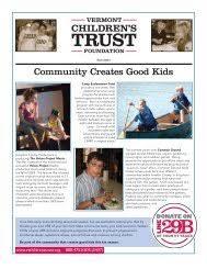 community creates good kids