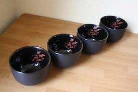 rice bowls asian tableware soup bowl