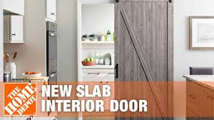 mere for a new slab interior door
