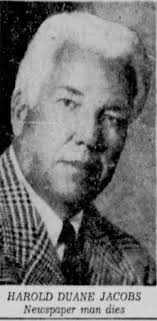 Harold Duane Jacobs (1890-1959) - Find A Grave Memorial