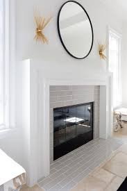 art deco fireplace mantel design ideas