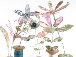 Cotton Reel Flowers – Priscilla Edwards