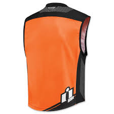 mil spec 2 hi viz orange vest