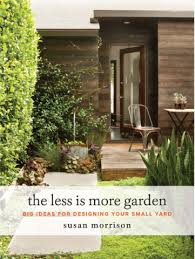 the less is more garden book giveaway