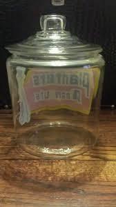 planters peanuts jar vintage large