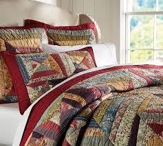 bandana patchwork quilt shams