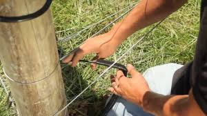 How To Install Gates For Electric Fence Systems Youtube
